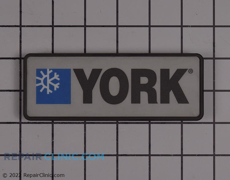 Plate,bezel,york,black