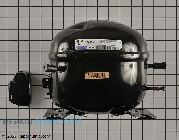 Replacement compressor. Software updated required. Please see related item#4931193