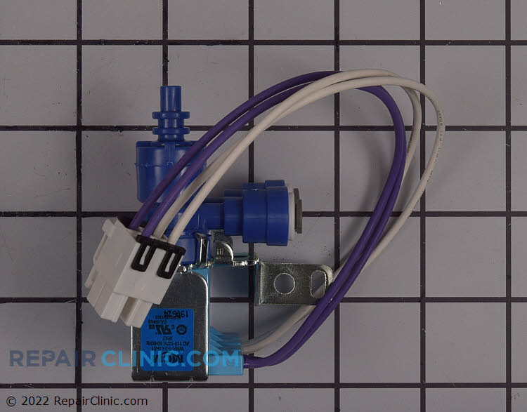 Secondary water inlet valve
