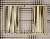 Window Side Curtain and Frame - Part # 1554639 Mfg Part # 5304475241