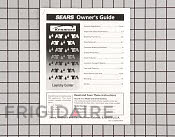 Owner's Manual - Part # 408215 Mfg Part # 131786800