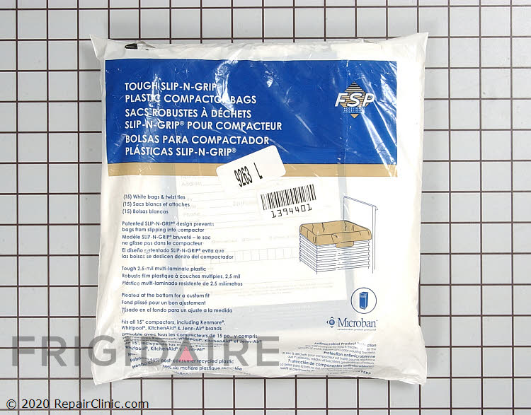 Trash Compactor Bags W10165295RP Alternate Product View