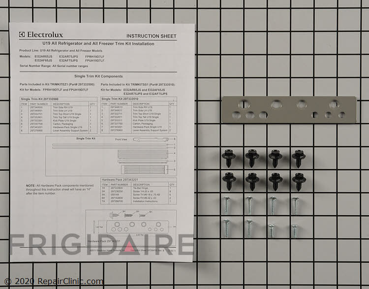 Hardware Kit 297343201 Alternate Product View
