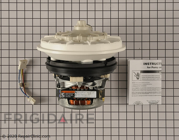 Pump and Motor Assembly W10428168 Alternate Product View