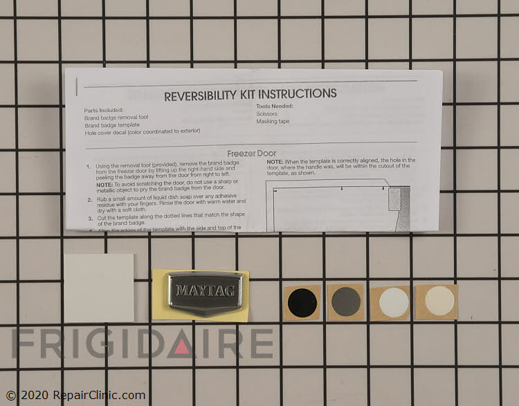 Door Reversal Kit W10395149       Alternate Product View