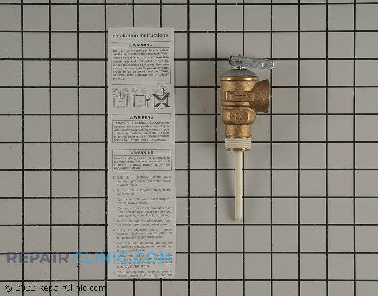 T & p valve