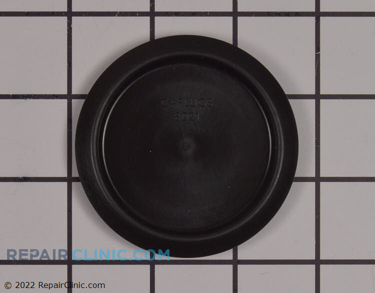 Button plug with recessed head