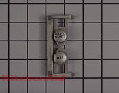 Button set, start (silver (for white model)) - Part # 1027326 Mfg Part # 8182180