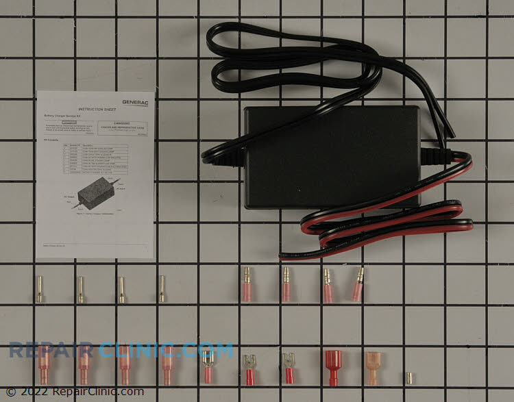 Kit battery charger 12vdc 2.5a